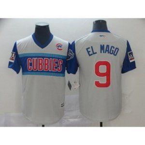 MLB Shirts - Chicago Cubs Javier Baez El Mago #9 Jersey